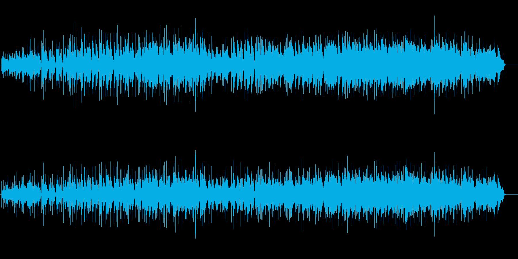 ナチュラルなスロー・バラードの再生済みの波形
