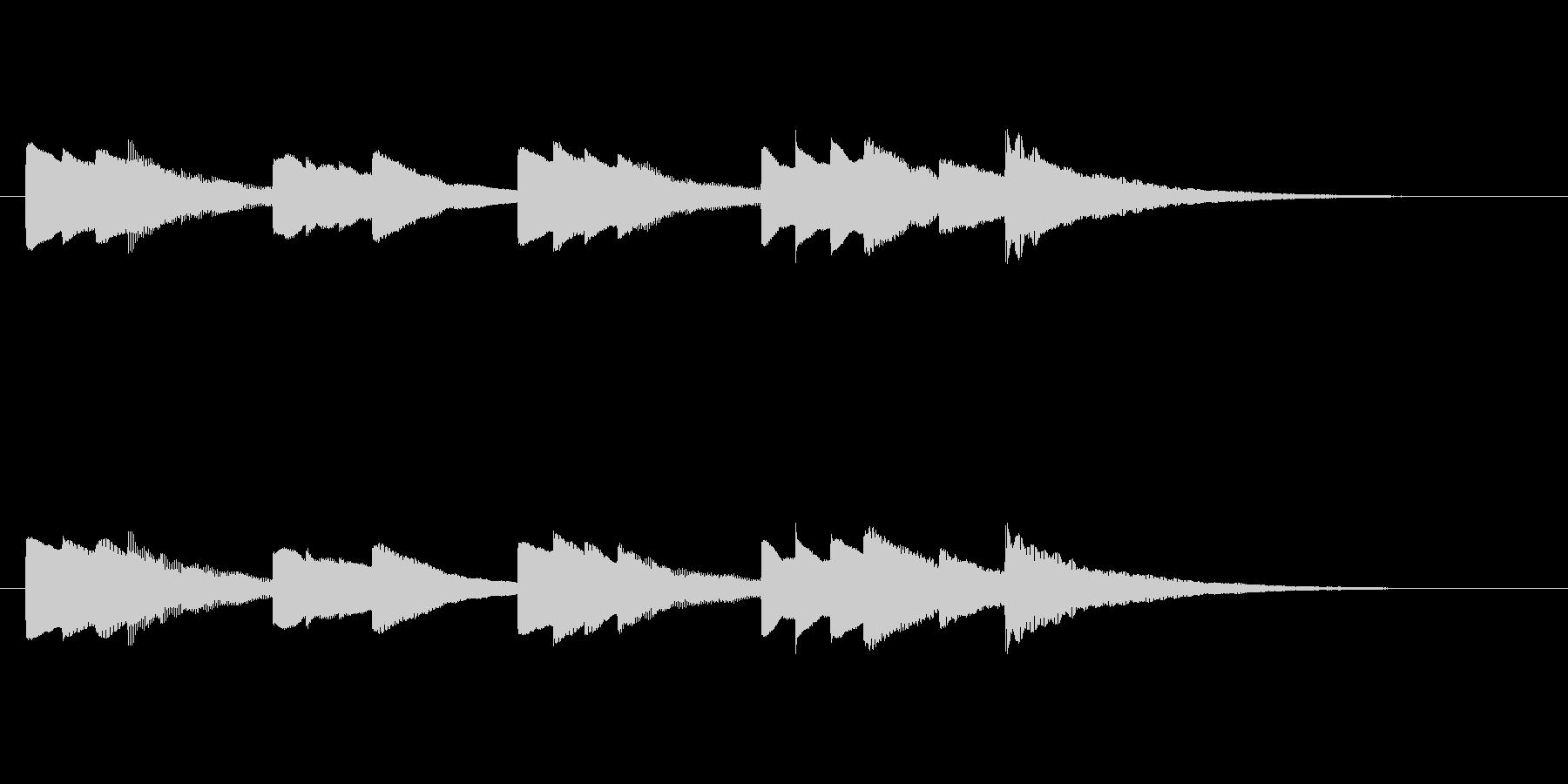 少し切ないオルゴール音_01の未再生の波形