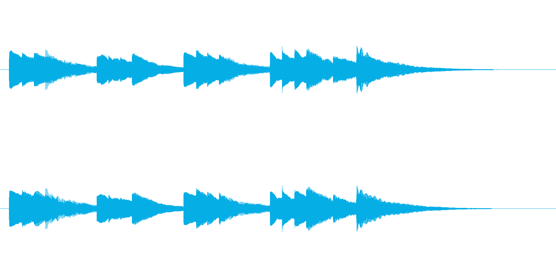 少し切ないオルゴール音_01の再生済みの波形