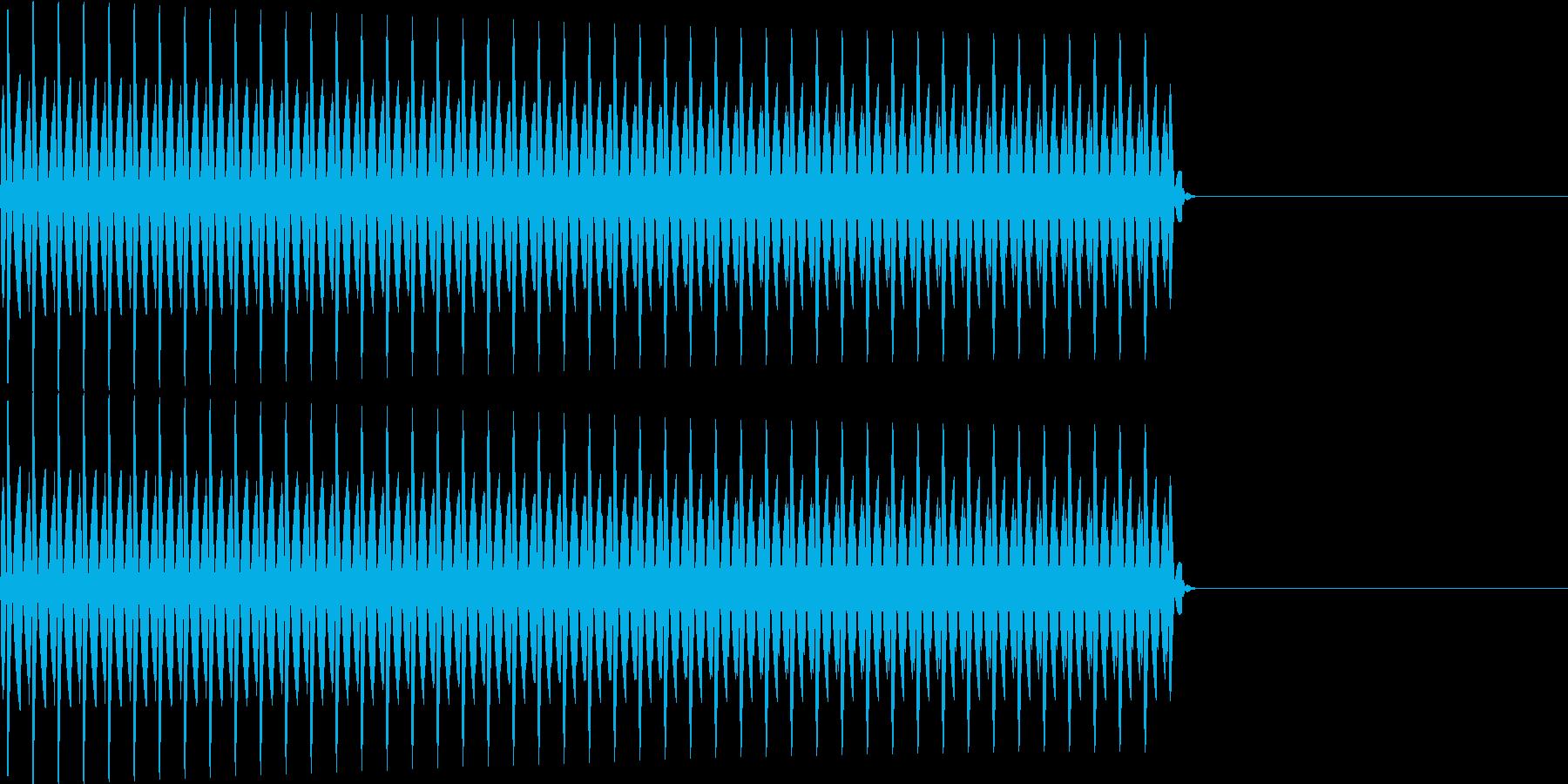 ブー(クイズ_不正解)の再生済みの波形
