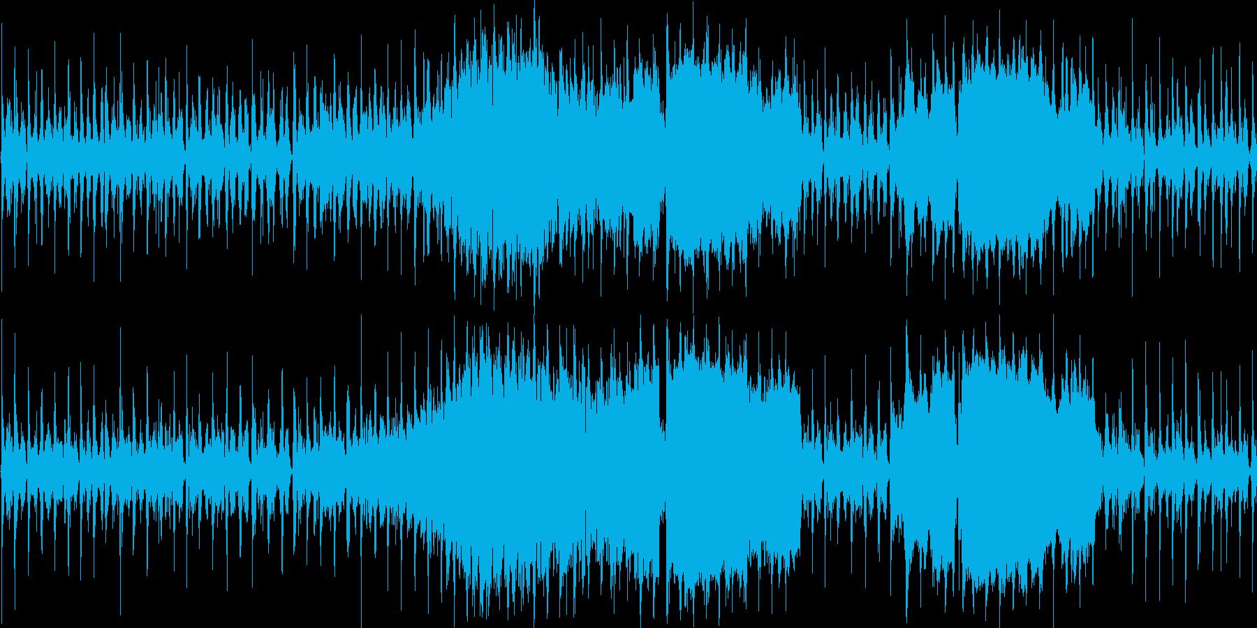 【アメリカン/インディアン/映像】の再生済みの波形