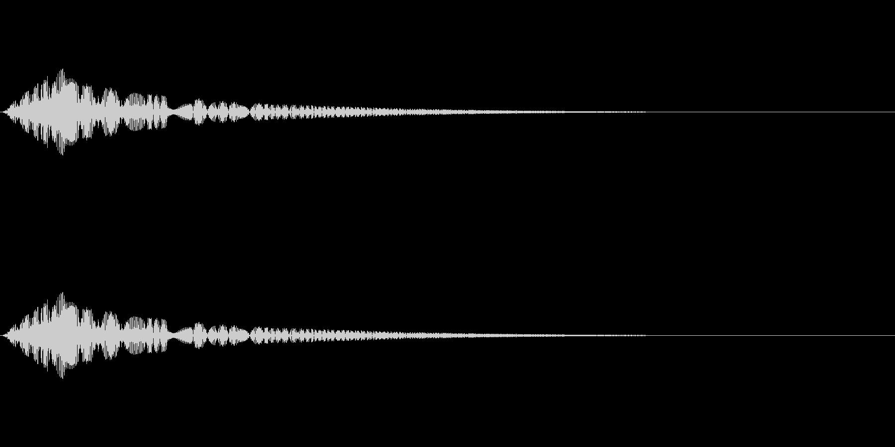魔法、状態異常などに使える効果音_2の未再生の波形
