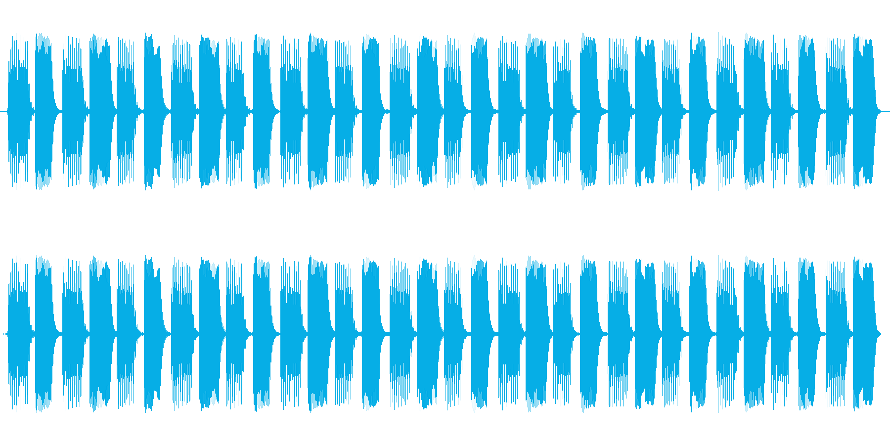 ピコピコピコピコ・・・という電子音です…の再生済みの波形