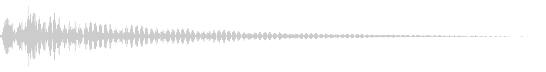 コン(カーソル移動、決定、ボタン)の未再生の波形