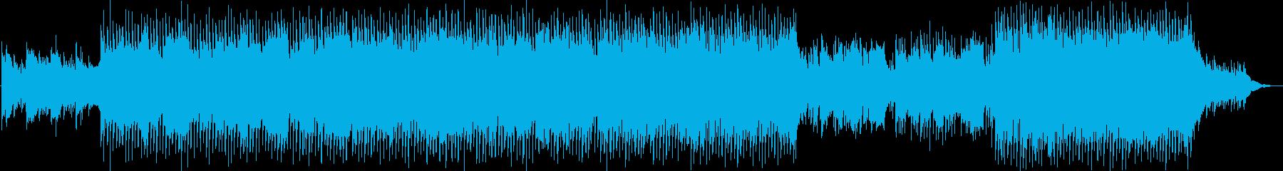 生演奏サックス企業VPオープニング爽やかの再生済みの波形