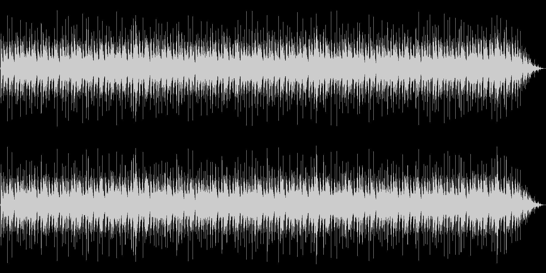 クールでシンプルなピアノトリオジャズの未再生の波形