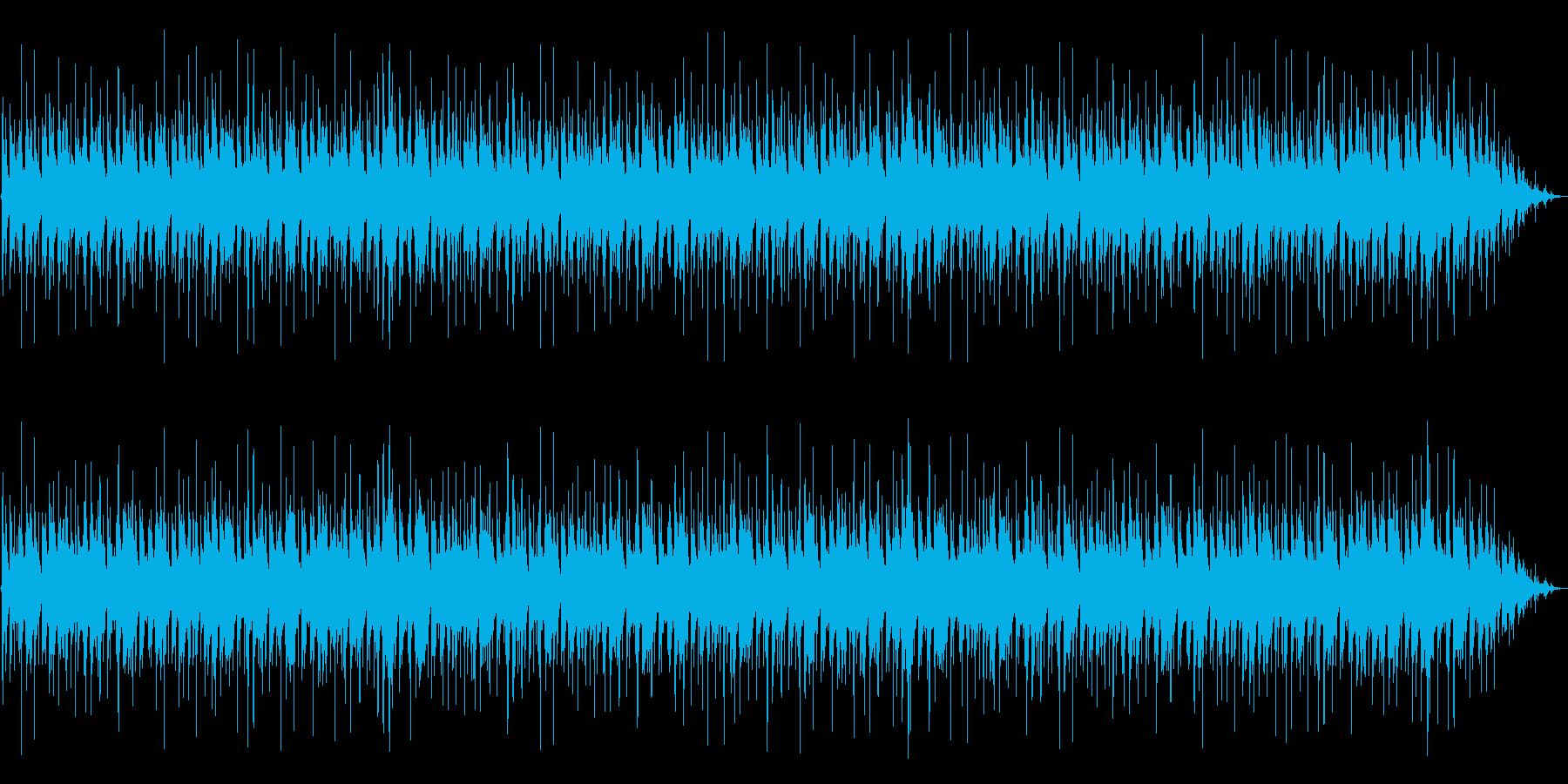 クールでシンプルなピアノトリオジャズの再生済みの波形