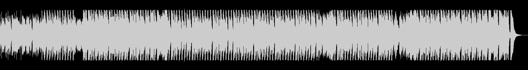 映像に合う疾走感のあるエレクトロの未再生の波形