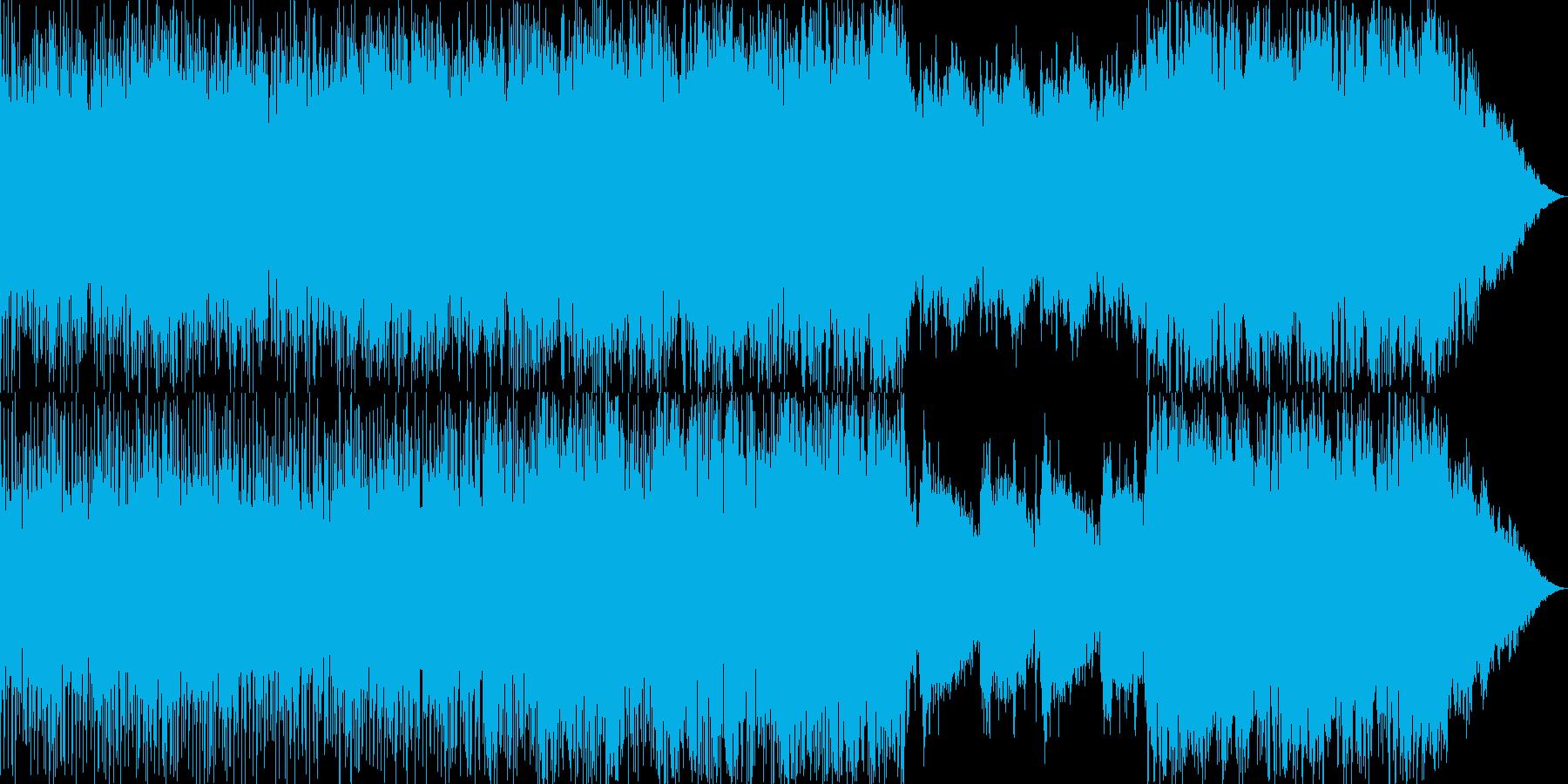 使用例下記にあり 哀愁 壮大 泣けるの再生済みの波形