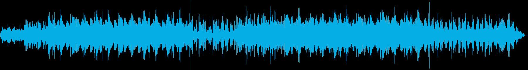 120bpm、F#-min、エレピ曲の再生済みの波形
