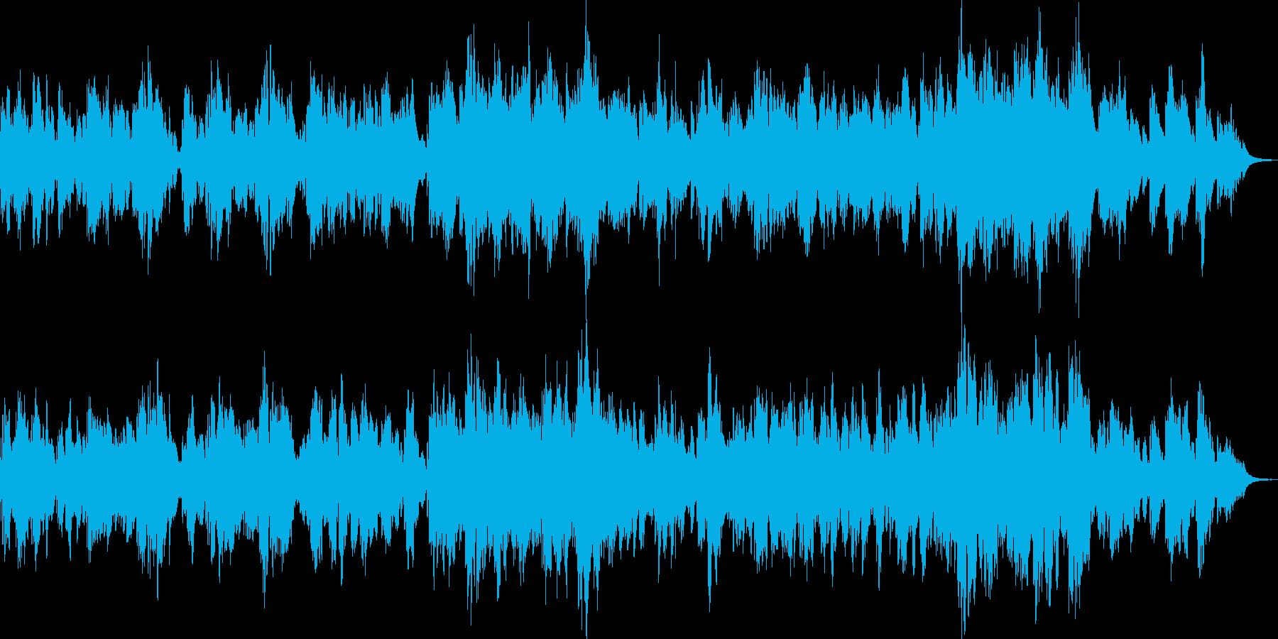オルゴール風のやさしいバラードです。の再生済みの波形