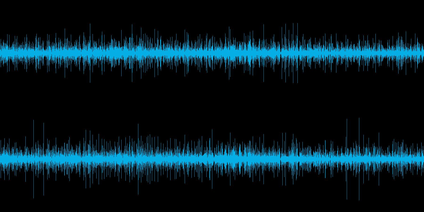 ムードノイズ「ポコポコ」抽象的、分子世界の再生済みの波形