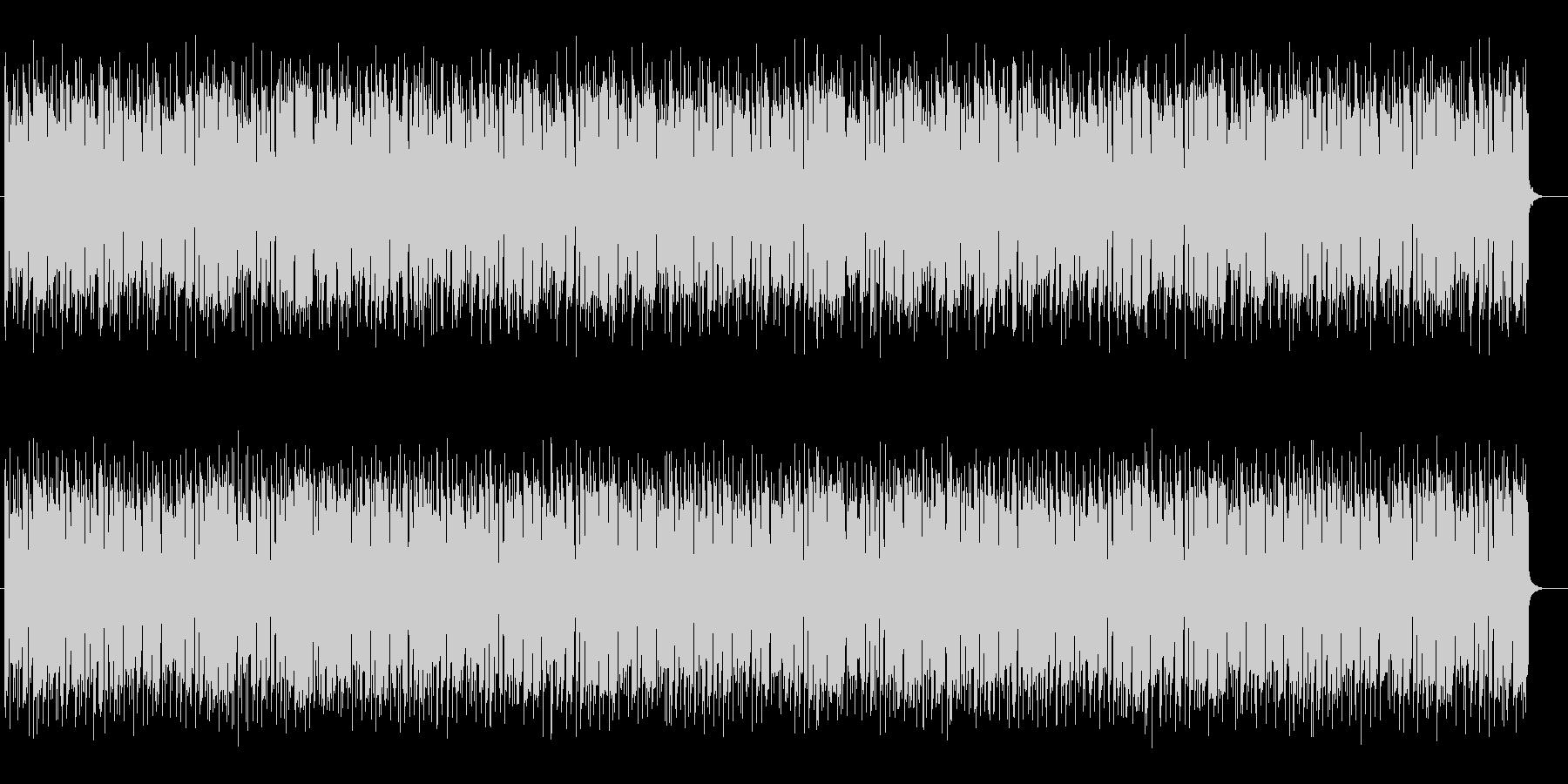 メロディアスでメローなジャズサウンドの未再生の波形
