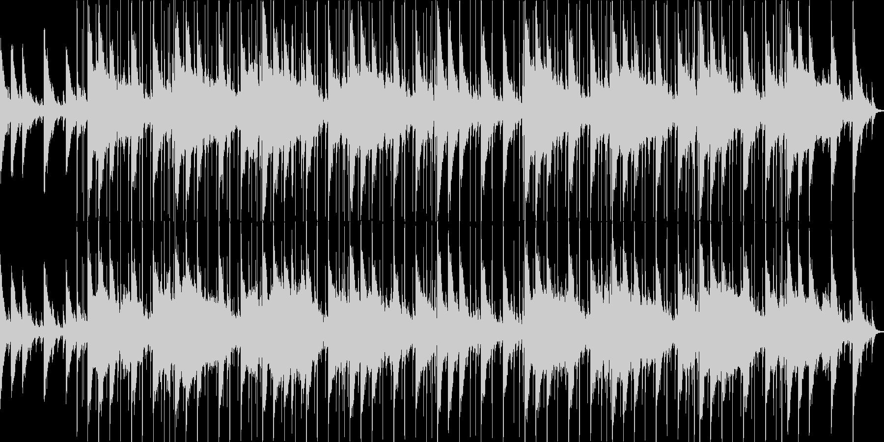 スタイリッシュな雰囲気のループBGMと…の未再生の波形