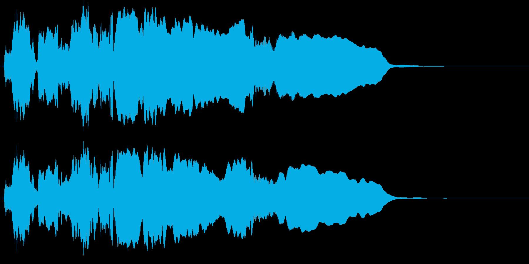 音侍SE「尺八フレーズ1」エニグマ音11の再生済みの波形