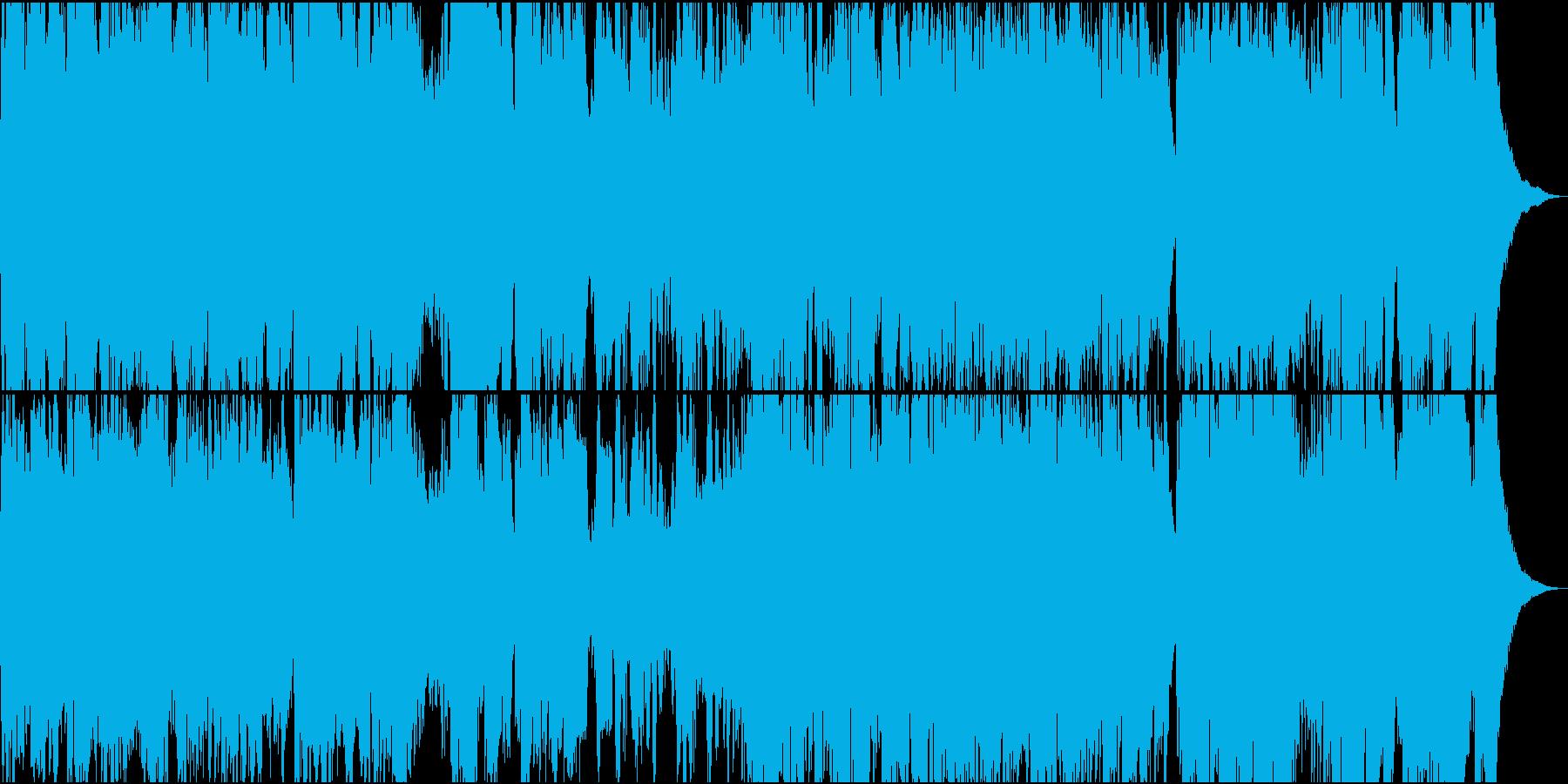 ゆったりフィドルとチェロのケルト楽曲の再生済みの波形