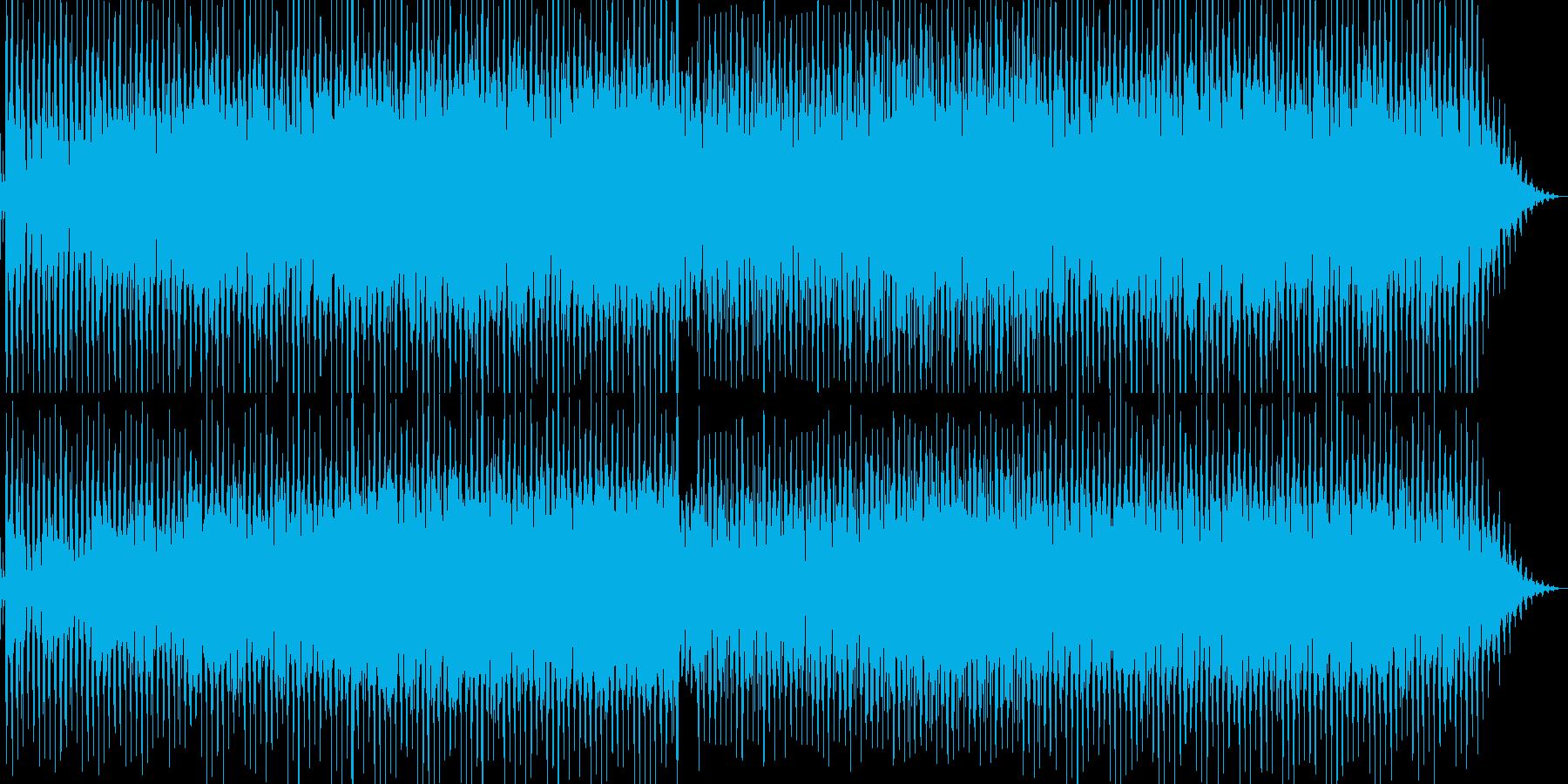 キャッチーのハウスの再生済みの波形