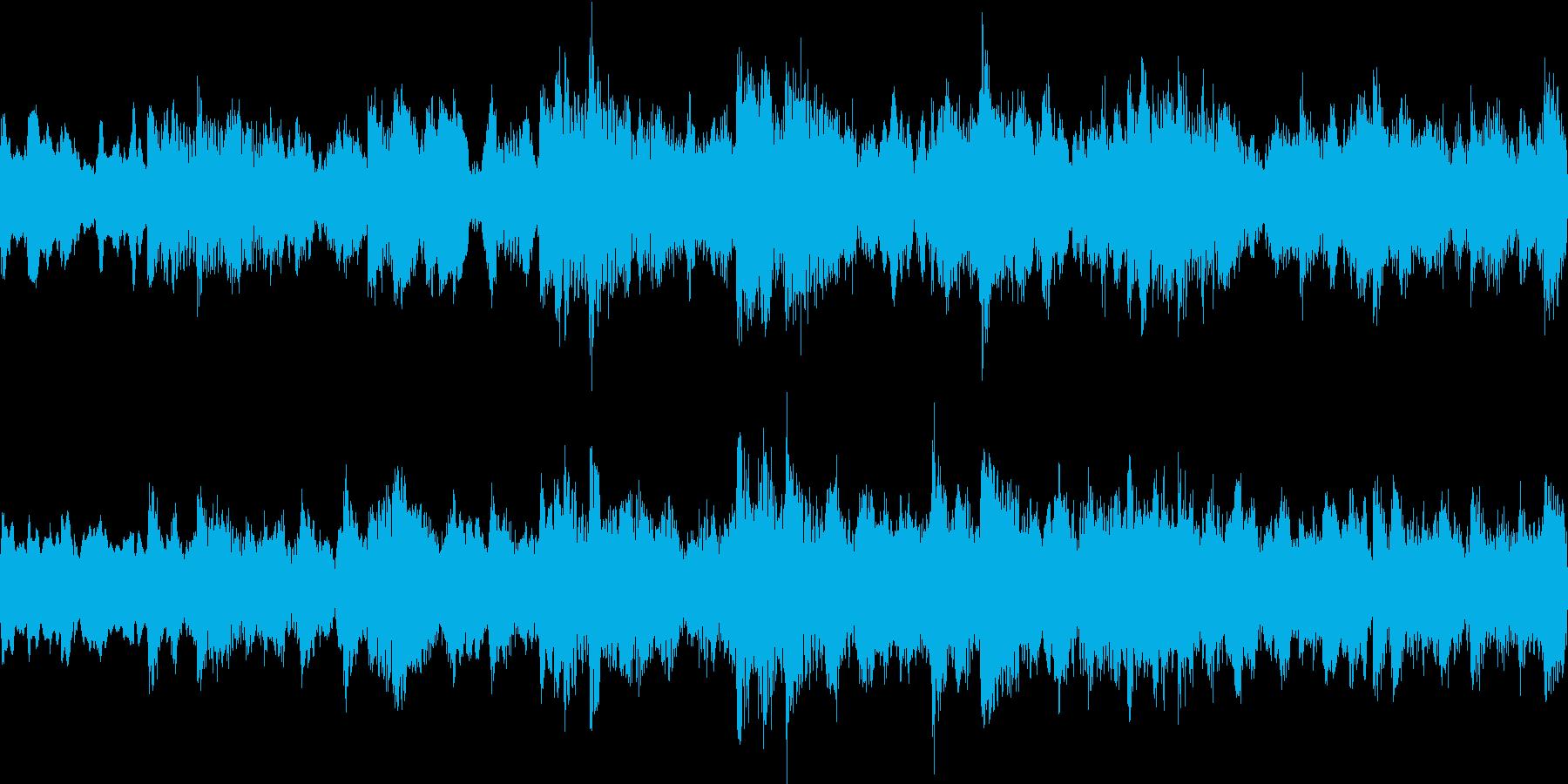穏やかで温かいオルゴール風ジングルループの再生済みの波形