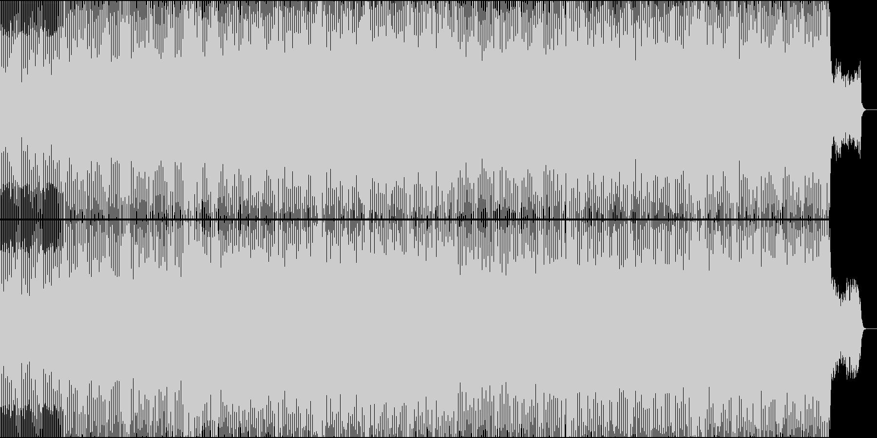 EDMクラブ系、製品紹介、商品紹介-09の未再生の波形