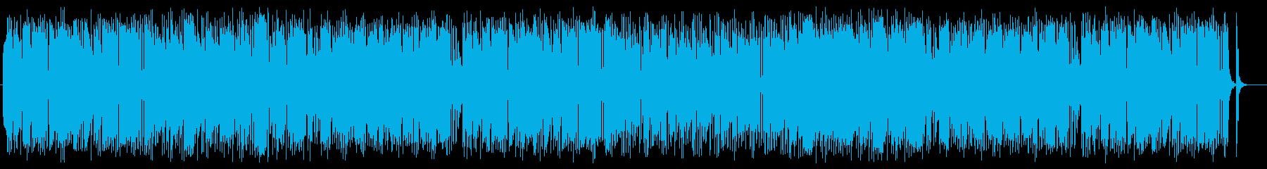弾むようなかわいいポップミュージックの再生済みの波形