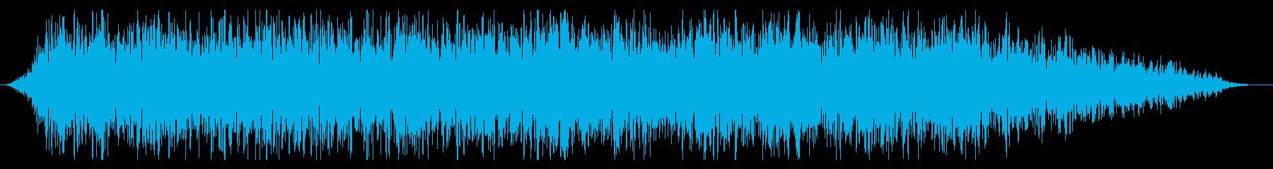 【ゴォ〜】地震、地響き、地鳴りに最適08の再生済みの波形