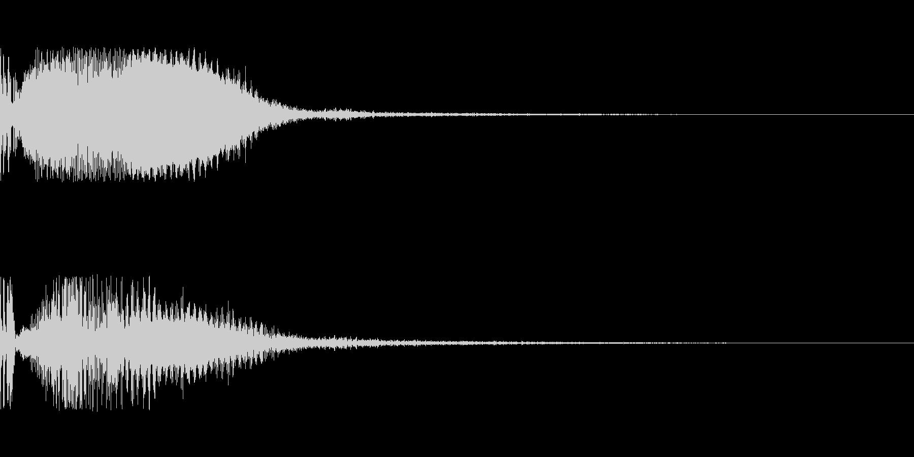 ポワーイ(エフェクト)の未再生の波形