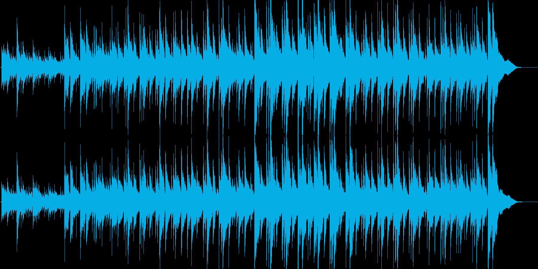 リラックスできるほのぼのまったりアコギ曲の再生済みの波形
