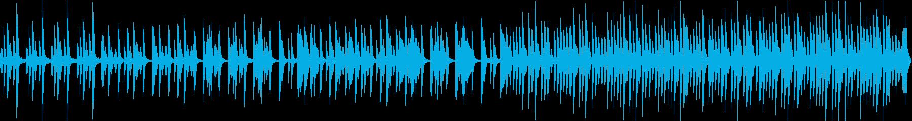 さわやかで日常的なピアノソロの再生済みの波形