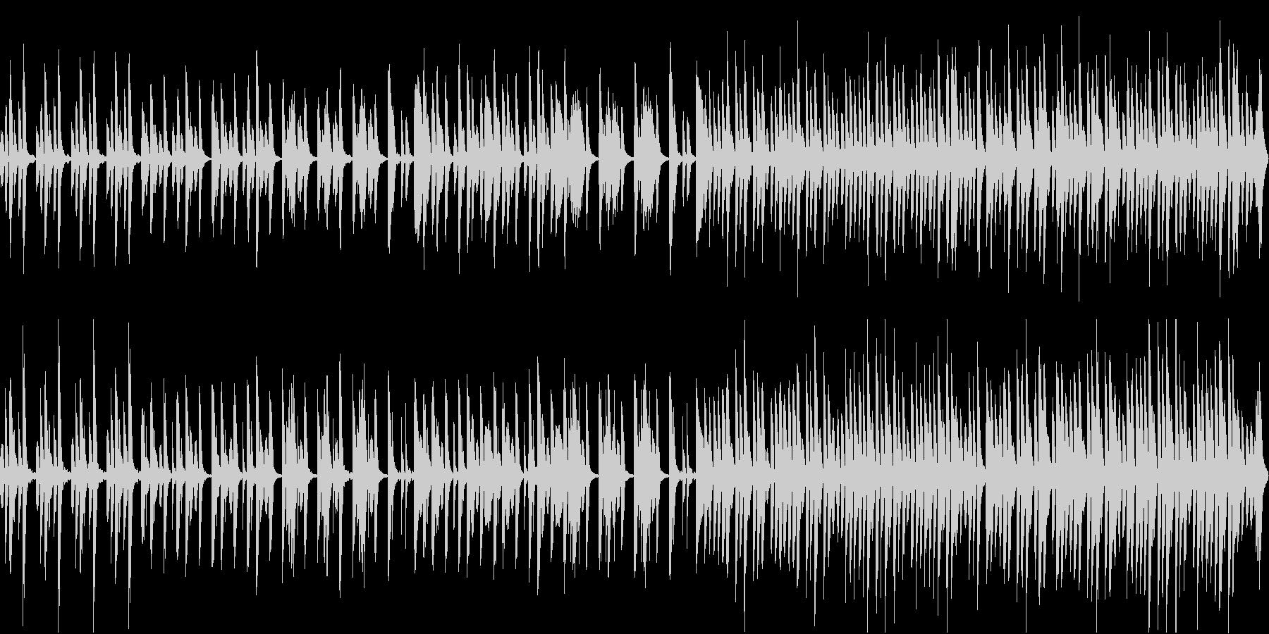 さわやかで日常的なピアノソロの未再生の波形