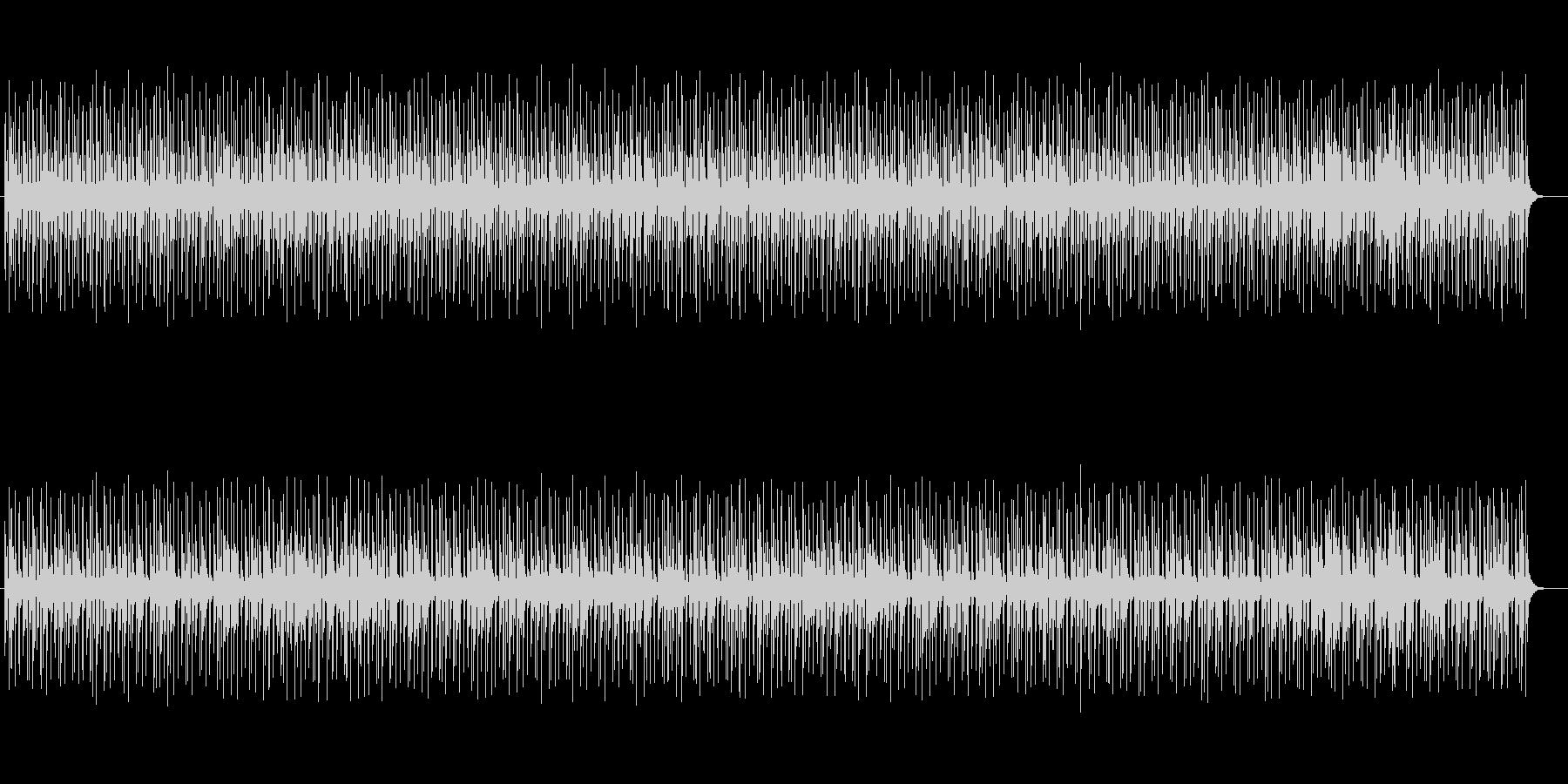 不思議な浮遊感のあるアンビエントな曲の未再生の波形
