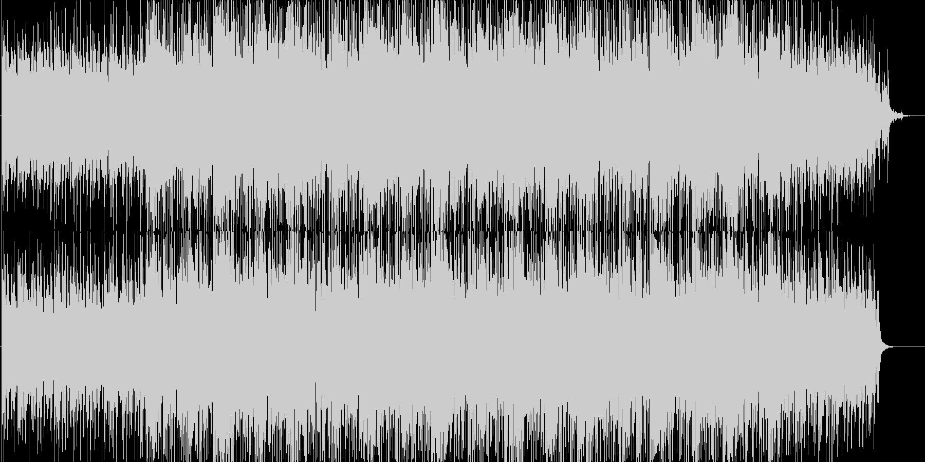 緊迫感・映像・解説・ナレーション用の未再生の波形