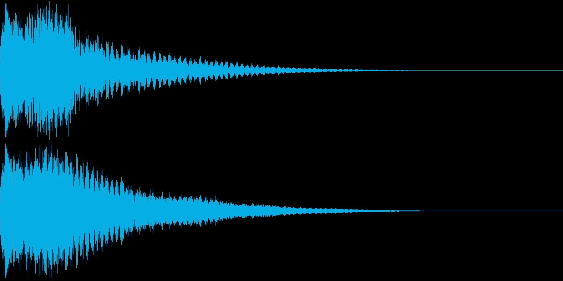 キュイン キュイーン キラリン ピカンの再生済みの波形