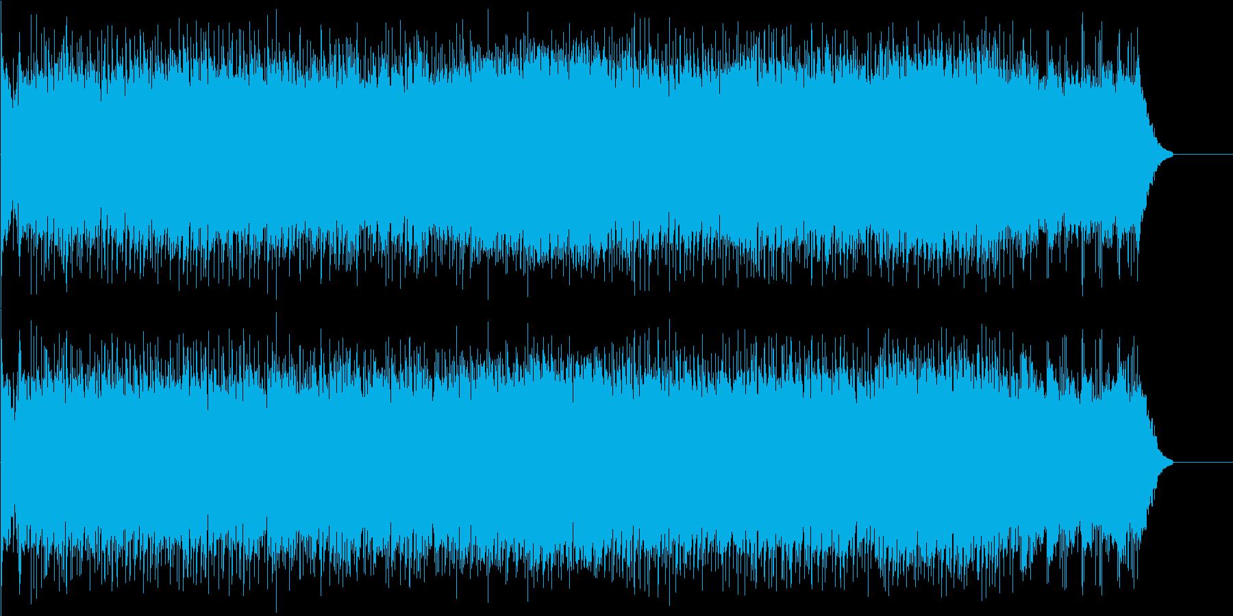 お洒落な6/8拍子ポップ・フュージョンの再生済みの波形