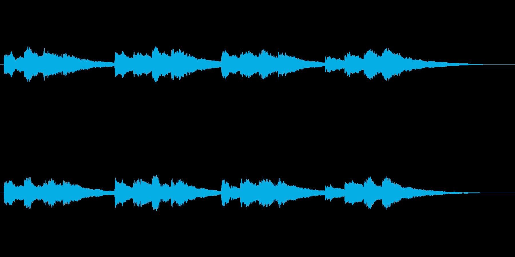 【チャイム 学校02-07】の再生済みの波形