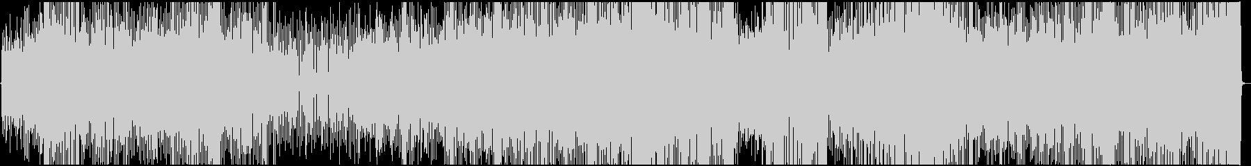 踊れるラテンナンバーの未再生の波形