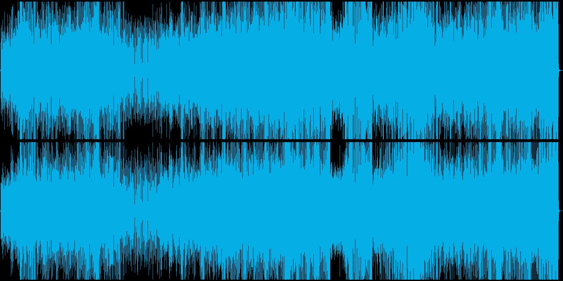 踊れるラテンナンバーの再生済みの波形