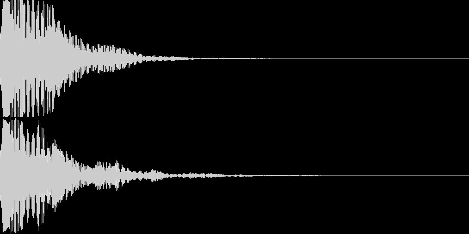 汎用キャンセルボタン - 8の未再生の波形