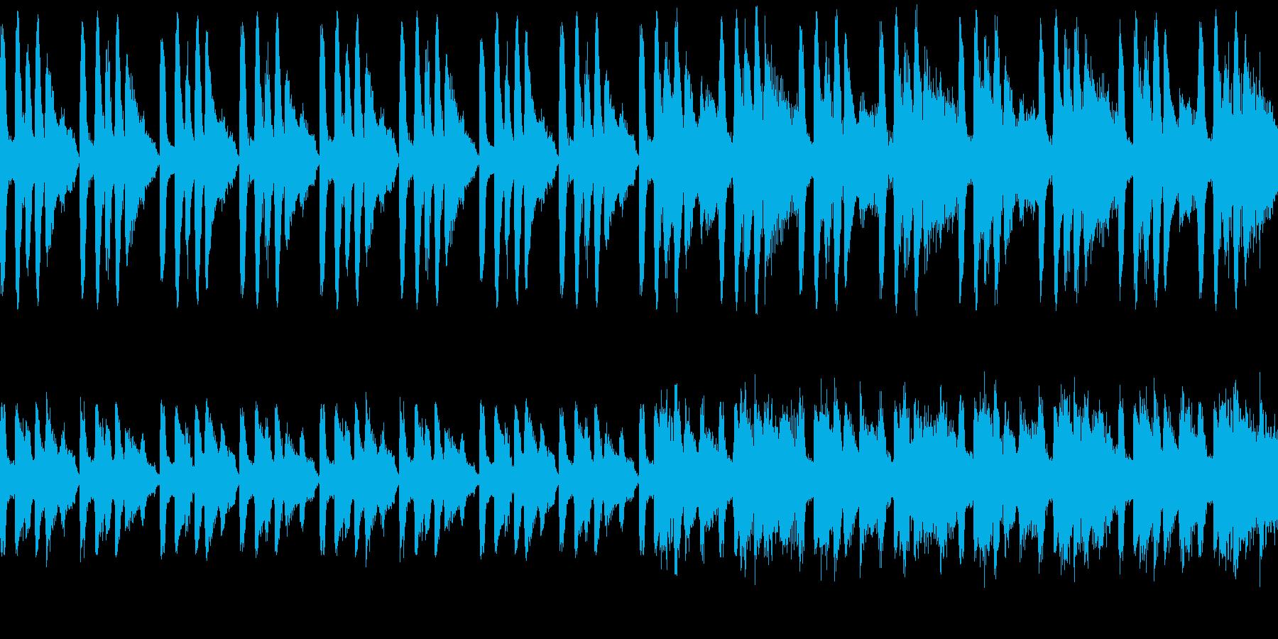 おかしい話みたいな曲(ループ仕様)の再生済みの波形