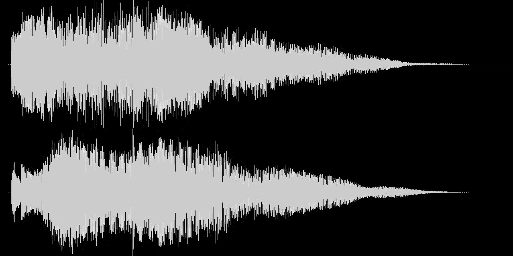 タララララララン(ベル系)の未再生の波形