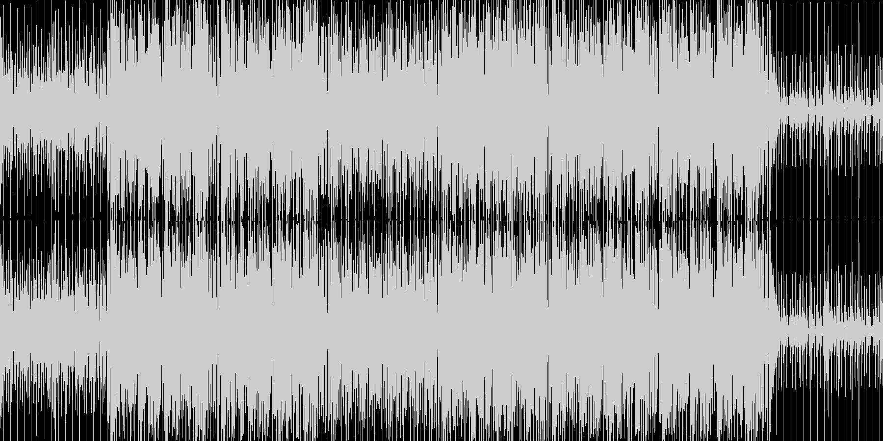 和風/侍/ファンク/ミックス/かっこいいの未再生の波形