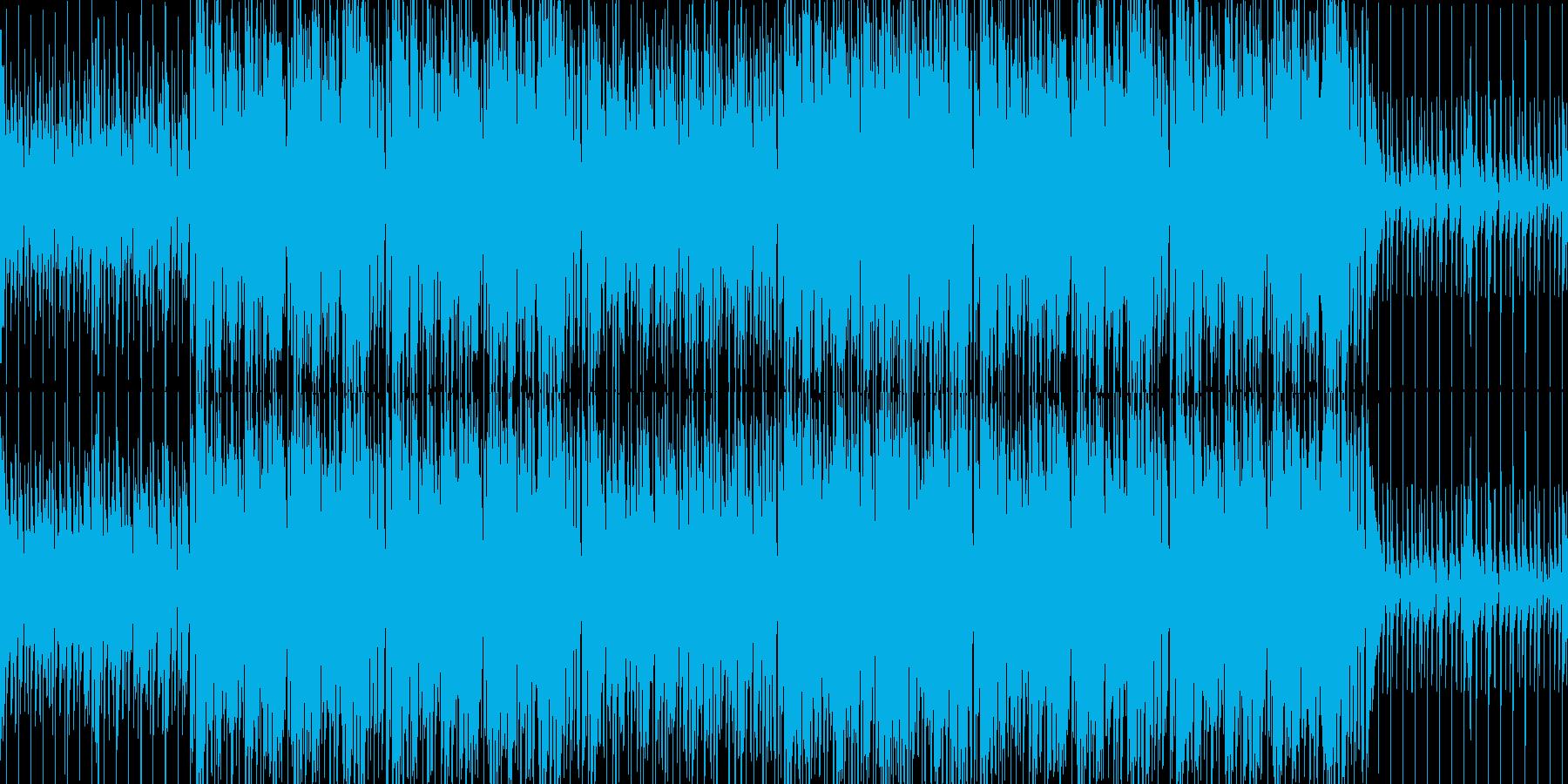 和風/侍/ファンク/ミックス/かっこいいの再生済みの波形
