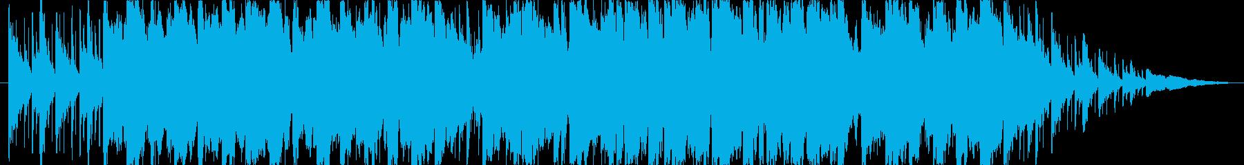 ケルト風BGM(自然・広大)の再生済みの波形