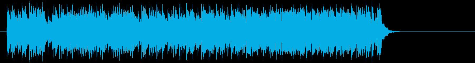 推進力ある元気なポップ(サビ~イント…)の再生済みの波形