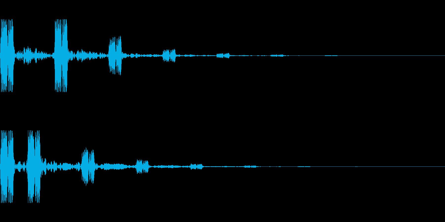 前触れ 前兆 予感 1-2の再生済みの波形