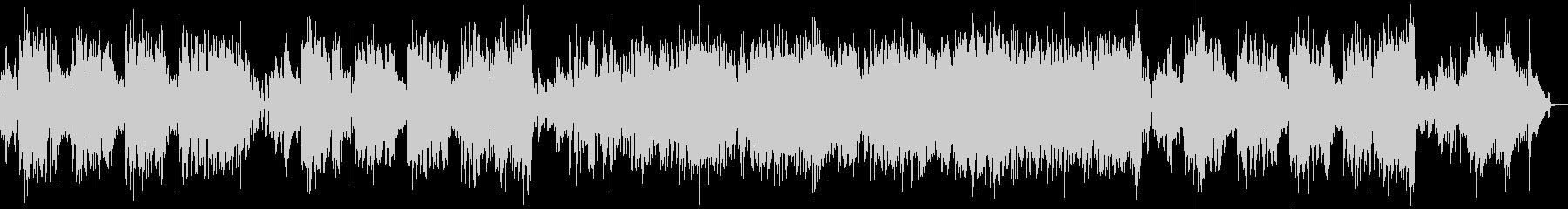 フルートとエレピのラテンの未再生の波形