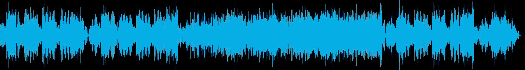 フルートとエレピのラテンの再生済みの波形