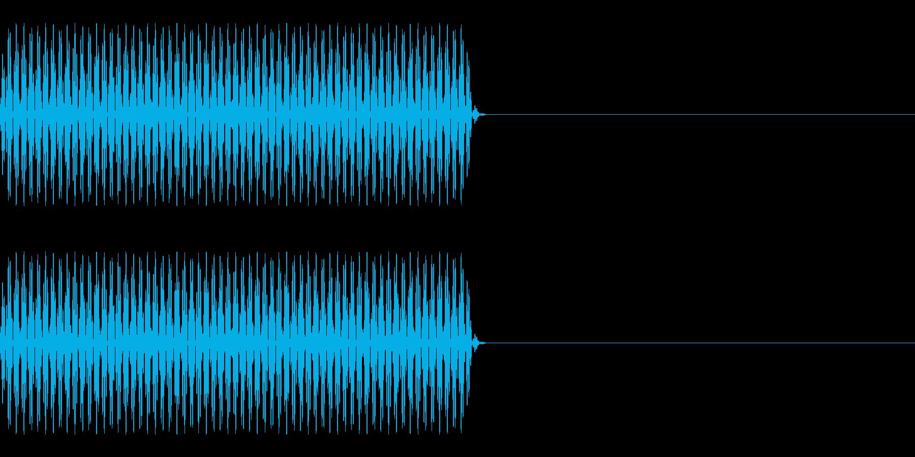 FX・SE/電話/ボタン音/海外風/#1の再生済みの波形