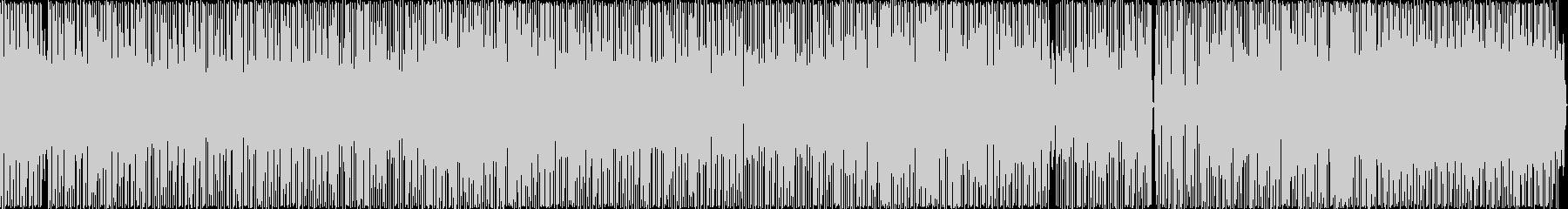 レゲエ風のヒップホップの未再生の波形
