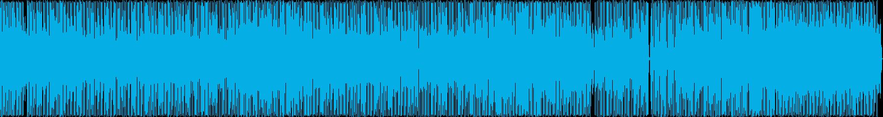 レゲエ風のヒップホップの再生済みの波形