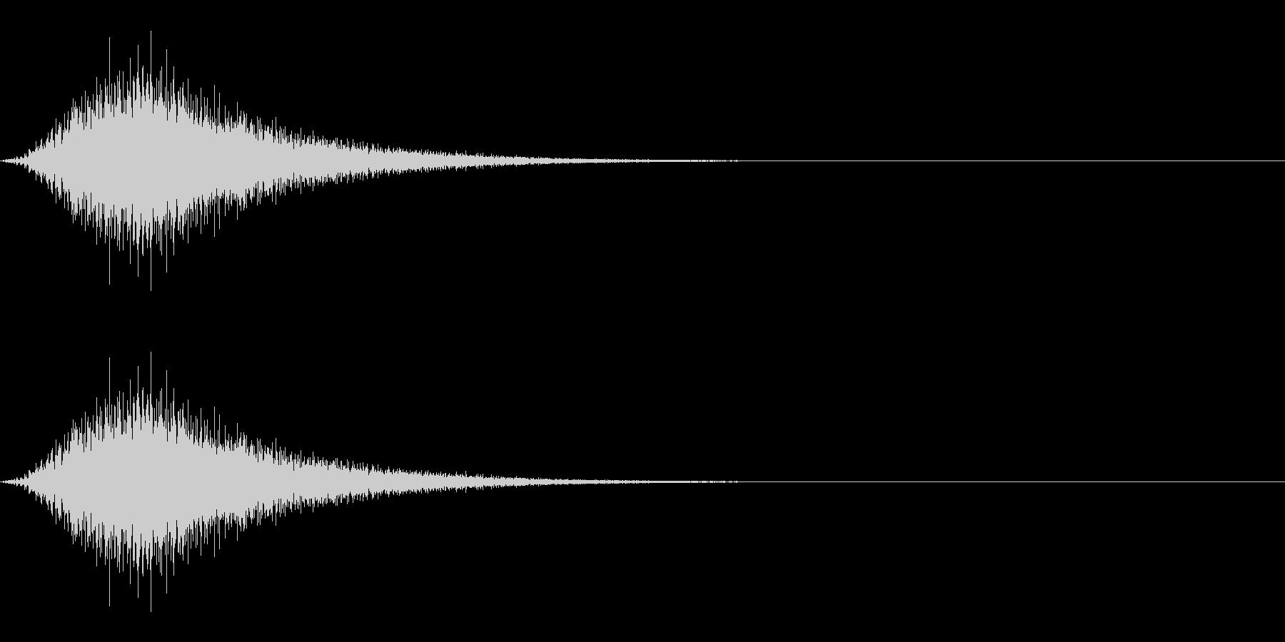 パワーアップ/チャージ/スピードアップの未再生の波形
